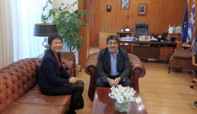 Mε τον Διοικητή της ΥΠΑ συναντήθηκε η Γενική Γραμματέας του ICAO