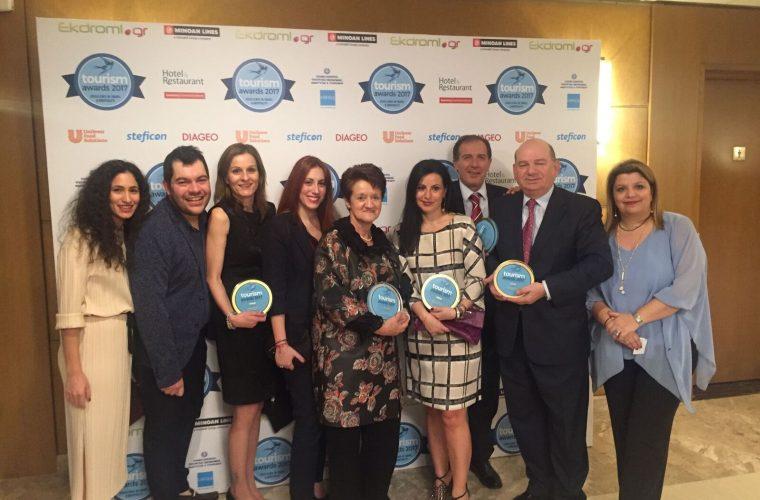 Με πέντε «λαμπερά» βραβεία διακρίθηκε η Celestyal Cruises στα Tourism Awards 2017