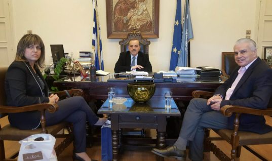 Συνάντηση του Δημάρχου με τον Πρόεδρο Διευθυντών Ξενοδοχείων Ρόδου, με θέμα την νέα τουριστική περίοδο