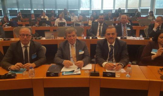 """Ο Δήμαρχος Ρόδου στο Ευρωπαϊκό Κοινοβούλιο για την υπογραφή της """"Διακήρυξης των Έξυπνων Νησιών"""" της Ευρώπης"""