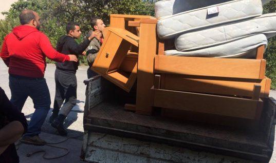 Δωρεά επίπλων στην Κίτρινη Αποστολή από τον Ροταριανό όμιλο Ηρακλείου