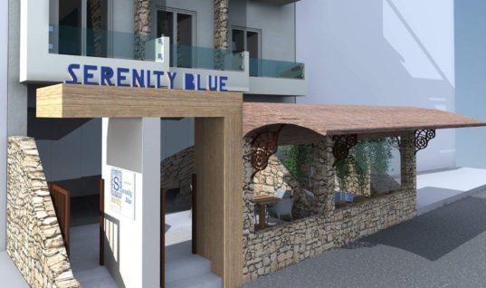 Serenity Blue Boutique Hotel****: Ένα νέο ξενοδοχείο ετοιμάζεται να υποδεχτεί τους επισκέπτες της Χερσονήσου