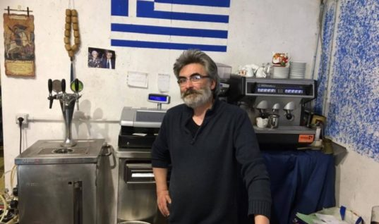 Ο Κρητικός εστιάτορας που έχασε ότι είχε χτίσει από τον σεισμό στην Ιταλία