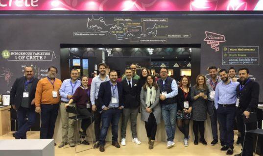 Οι Οινοποιοί της Κρήτης στην μεγαλύτερη Διεθνή έκθεση κρασιού PROWEIN