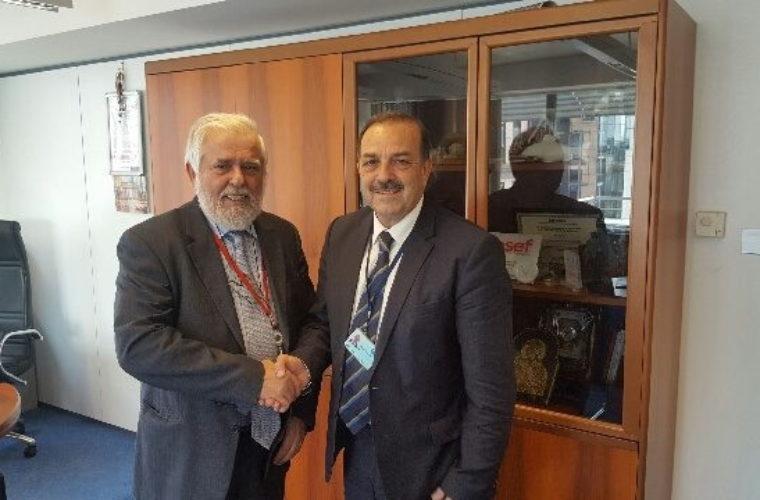 Συναντήσεις Δημάρχου Ρόδου στο Ευρωπαϊκό Κοινοβούλιο