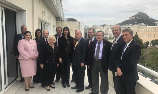 Συνάντηση της Υπουργού Τουρισμού κας Έλενας Κουντουρά με το προεδρείο των ΑΧΕΠΑΝΣ