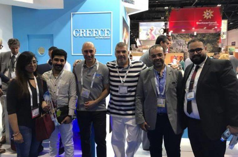 Σημαντικές επαφές από την αποστολή της MTC GROUP στην έκθεση Arabian Travel Market