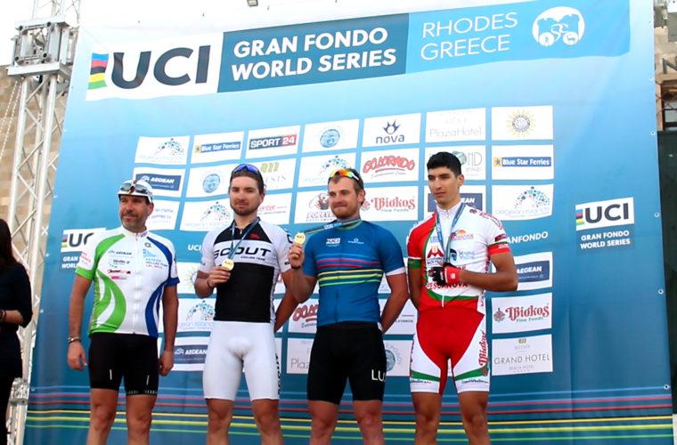 Τέσσερα ελληνικά μετάλλια στην πρεμιέρα του Παγκοσμίου Κυπέλλου Ποδηλασίας Ερασιτεχνών της Ρόδου