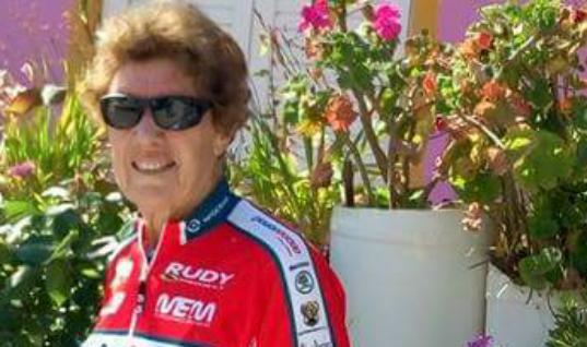81χρονη ποδηλάτρια από την Αυστραλία στο Παγκόσμιο της Ρόδου!
