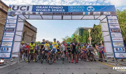 Εικοσιτρείς χώρες στο UCI Gran Fondo της Ρόδου