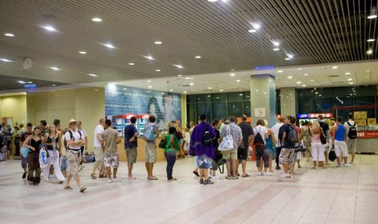 Η μεγαλύτερη κίνηση στο αεροδρόμιο της Ρόδου