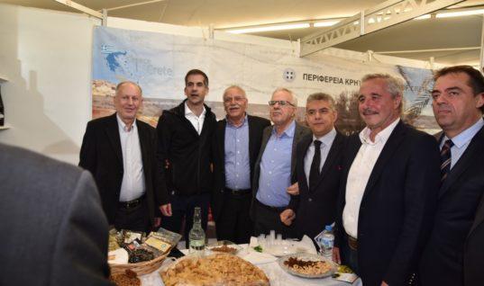 Δυναμική παρουσία της Κρήτης στο 7ο Φεστιβάλ Ελαιολάδου και Ελιάς