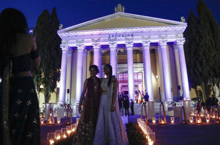 Ο γάμος της πρωτόγνωρης χλιδής από Ινδούς κροίσους στο Ζάππειο (φωτο)