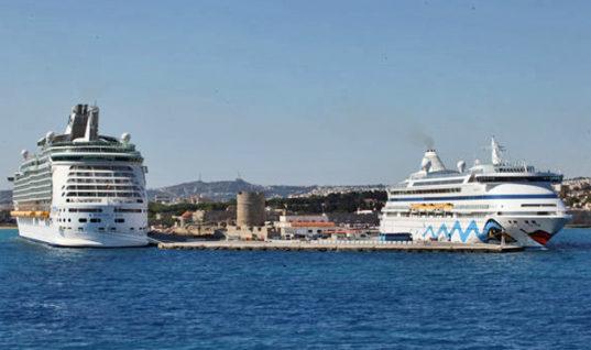 Προσεγγίσεις μεγαλύτερων κρουαζιερόπλοιων το 2017 στα ελληνικά λιμάνια