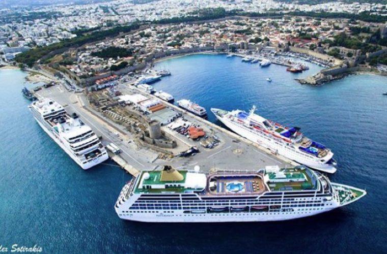Σταθμός πρώτων βοηθειών στο τουριστικό λιμάνι της Ρόδου