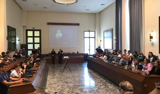 Ο πολιτισμός και το περιβάλλον της Ρόδου, αντικείμενο έρευνας 52 μαθητών του Αρσακείου Γυμνασίου Θεσσαλονίκης