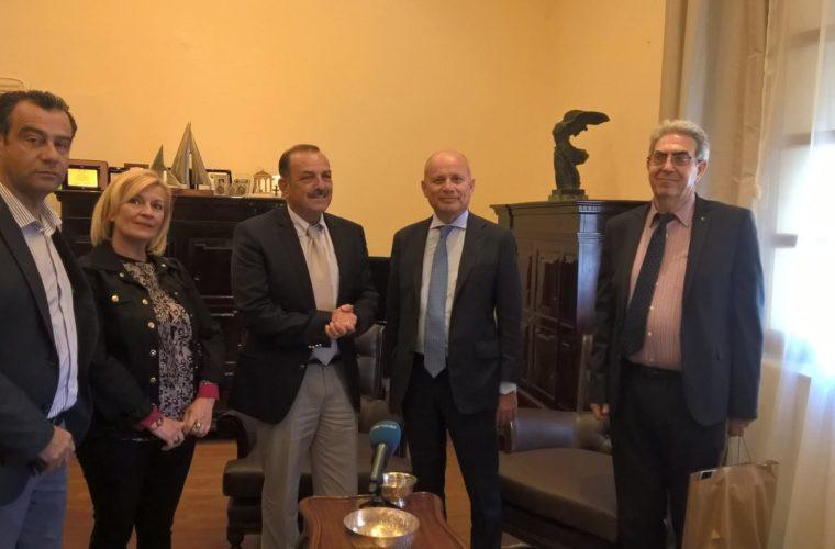 Διαχρονική η αγάπη των Ιταλών για τη Ρόδο – Με τον Ιταλό πρέσβη συναντήθηκε ο Δήμαρχος