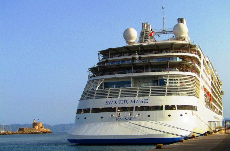 VIP Αμερικανοί στη Ρόδο με το νεότευκτο κρουαζιερόπλοιο Silver Muse
