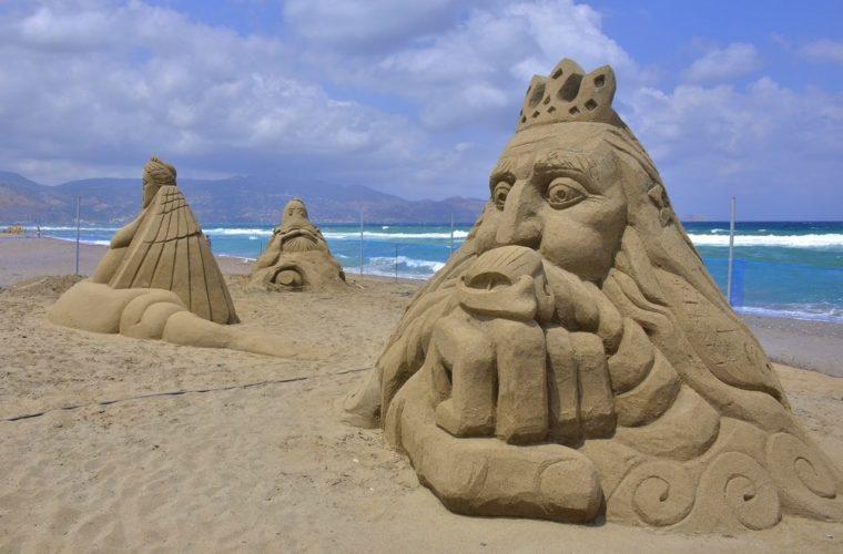 Φεστιβάλ γλυπτικής στην άμμο 2017 – Έρχεται ξανά στην Αμμουδάρα