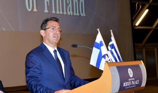 Γιορτάστηκαν τα εκατό χρόνια ανεξαρτησίας της Φινλανδίας – Στη Ρόδο ο Φινλανδός Πρέσβης