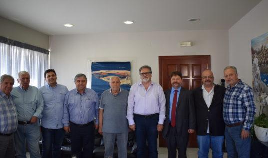 Επίσκεψη αντιπροσωπείας Κρητικών στο Δήμο Αγίου Νικολάου