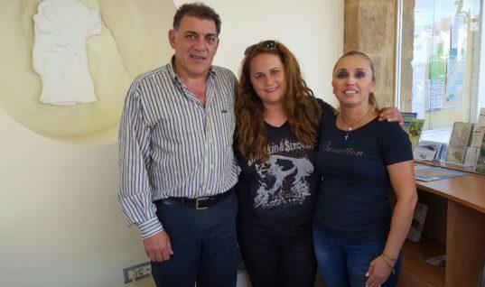 Μαγεύτηκε από τη Ρόδο συγγραφέας και blogger από τη Ρουμανία