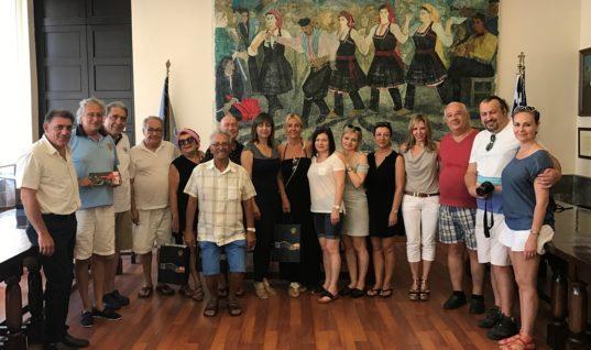 Στους «δρόμους του κρασιού» της Ρόδου επιχειρηματίες από την Τουρκία