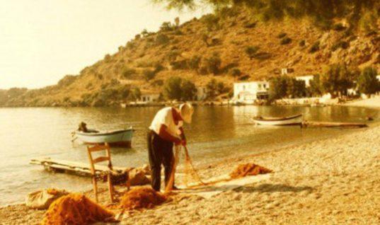 Ο παραθαλάσσιος παράδεισος το Λουτρό Σφακίων το 1970 (φωτο)