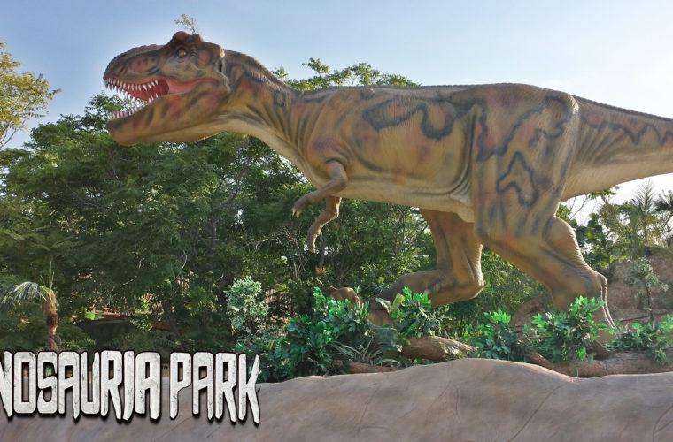 Dinosauria Park- Πάρκο Δεινοσαύρων στο Πλανητάριο Κρήτης