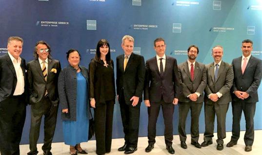 Ολοκληρώθηκε η επίσκεψη της  Υπουργού Τουρισμού Έλενας Κουντουρά στη ΔΕΘ