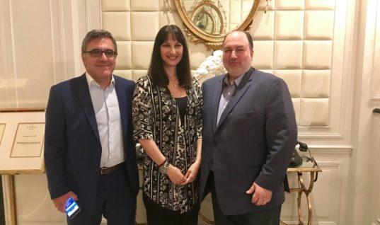 Επαφές Κουντουρά στις ΗΠΑ για τουρισμό κι επενδύσεις στην Ελλάδα