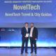 """Νέα Βράβευση με Gold βραβείο για την NovelTech και το προϊόν """"Travel & City Guides"""" στα Best City Awards 2017"""