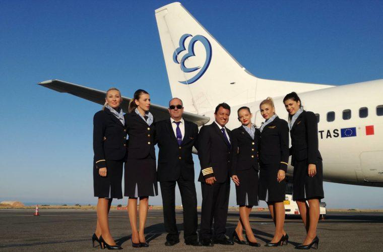 Σημαντική εταιρική κοινωνική ευθύνη από την  BlueBird Airways (fotos)