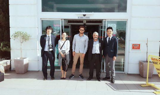 Αντιπροσωπεία Ιαπωνικής εταιρίας στις  νέες εγκαταστάσεις κρουαζιέρας του ΟΛΗ
