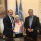 Πρέσβειρα της Ρόδου η κυρία Isolde Moser από την Αυστρία τιμήθηκε από το Δήμαρχο κ. Φώτη Χατζηδιάκο