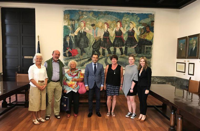 Φίλους της Ρόδου από Σουηδία και Γερμανία τίμησε ο Δήμος Ρόδου