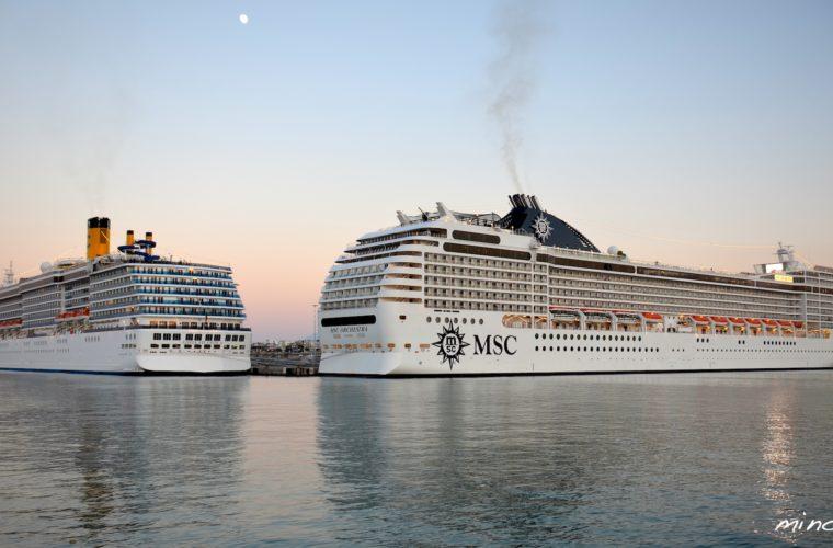 Κρουαζιέρα:16.000 επιβάτες σε διάστημα λίγων ημερών στο λιμάνι του Ηρακλείου (Βίντεο)