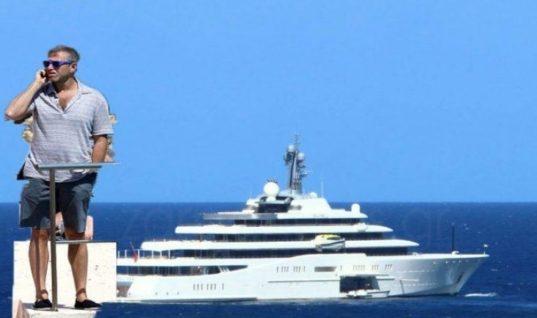 Στην Κρήτη ο μεγιστάνας Ρομάν Αμπράμοβιτς (Βίντεο)