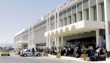 """""""Μάχη"""" με τον χρόνο για τα έργα επέκτασης στο αεροδρόμιο Ηρακλείου (Βίντεο)"""