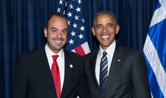 Ρένος Παπαπάσχος: Ο Έλληνας που αγάπησε ο Μπαρακ Ομπάμα