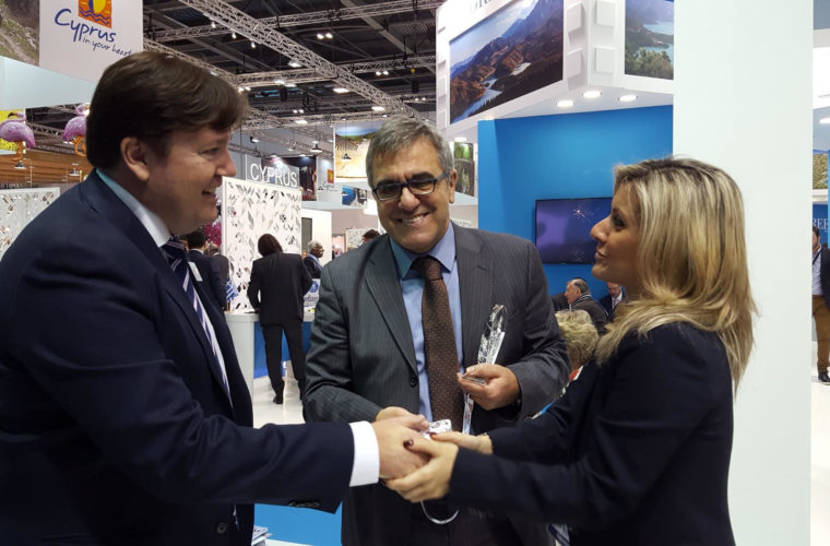 Βραβεύτηκε το  Περίπτερο του ΕΟΤ στη Διεθνή Έκθεση Τουρισμού του Λονδίνου WTM
