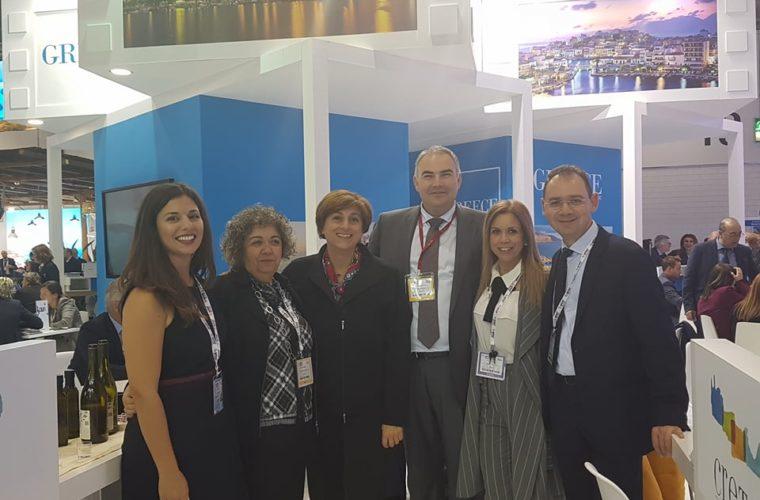 Επιτυχημένη παρουσία της Περιφέρειας Κρήτης στην μεγαλύτερη διεθνή τουριστική έκθεση «World Travel Market 2017»» στο Λονδίνο.