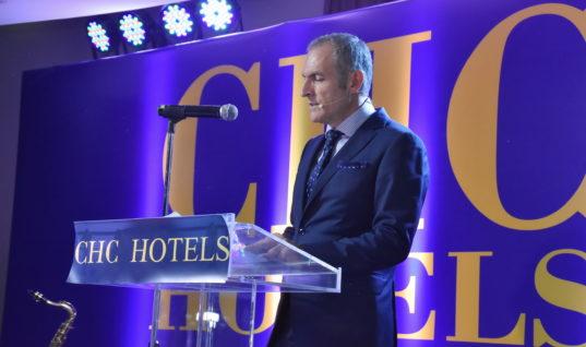 Ζαχαρίας Χνάρης CHC HOTELS: Χρόνια προκλήσεων για τον τουρισμό.