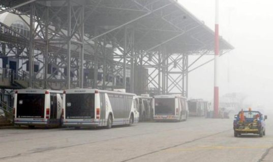 Ταλαιπωρία στο αεροδρόμιο Μακεδονία- Δεν πραγματοποιούνται πτήσεις λόγω ομίχλης