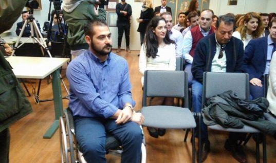 Οι Μινωικές Γραμμές τίμησαν το χρυσό Παραολυμπιονίκη Μανώλη Στεφανουδάκη