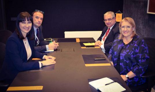 Συνάντηση της Υπουργού Τουρισμού Έλενας Κουντουρά με την Πρόεδρο της Μάλτας