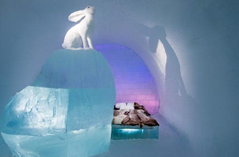 Το ιδανικό μέρος για τις χειμερινές σας διακοπές – Ένα ξενοδοχείο από πάγο στη Σουηδία! (pics)