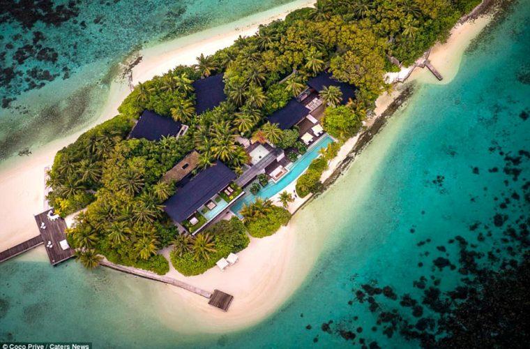 «Υμνος» στην πολυτέλεια στις Μαλδίβες, με… 38.000 ευρώ τη βραδιά (Pics)