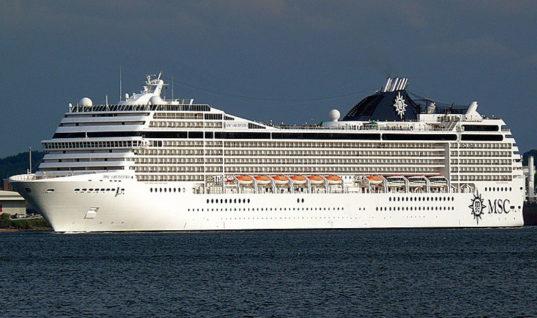 Το εντυπωσιακό κρουαζερόπλοιο Msc Orchestra εκτάκτως στα Χανιά
