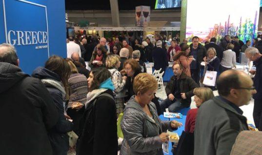Εντυπωσίασε η Κρήτη στην έκθεση τουρισμού «Salon Des Vacances» στις Βρυξέλλες